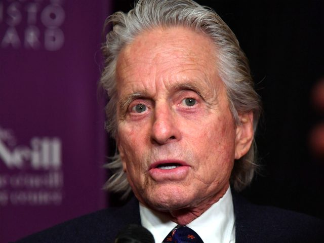Actor Michael Douglas attends The Eugene O'Neill Theater Center's 18th Annual Monte Cristo Award Honoring Lin-Manuel Miranda at Edison Ballroom on April 30, 2018 in New York City. (Photo by ANGELA WEISS / AFP) (Photo credit should read ANGELA WEISS/AFP/Getty Images)
