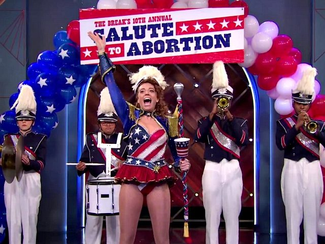 Abortion Gets a Patriotic Salute Thanks to Michelle Wolf