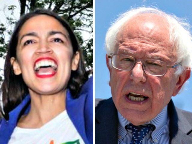 Ocasio-Cortez, Bernie Sanders