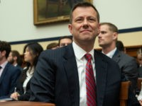 Deputy Assistant FBI Director Peter Strzok arrives to testify on FBI and Department of Justice actions during the 2016 Presidential election during a House Joint committee hearing on Capitol Hill in Washington, DC, July 12, 2018. - An FBI agent assailed as biased by Donald Trump after it emerged he …