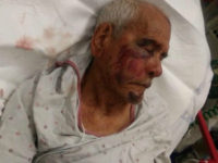 Authorities in Southern Los Angeles are searching for multiple suspects shown in a video using a brick to brutally beat 92-year-old Rodolfo Rodriguez to the ground on Wednesday.