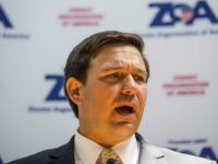 WASHINGTON, DC - MAY 09: Rep. Ron DeSantis (R-FL) speaks during an event hosted by the Zionist Organization of America on Capitol Hill on May 9, 2018 in Washington, DC. (Photo by Zach Gibson/Getty Images)