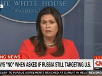 Sanders: Trump Wasn't Denying Russia Is Still Targeting US, Believes They Would Target Elections Again
