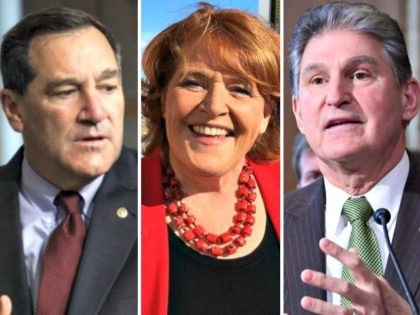 Sen. Donnelly, Heitcamp, Manchin