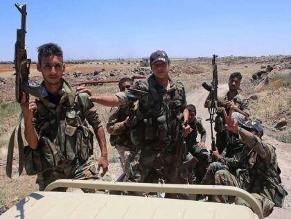 Syrian Army (Youssef Karwashan / Getty)