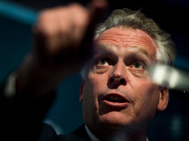 WASHINGTON, DC - Virginia Governor Terry McAuliffe speaks during the 2017 Center for American Progress Ideas Conference at the Four Seasons Hotel in Washington DC Tuesday May 16, 2017. (Photo by Melina Mara/The Washington Post via Getty Images)
