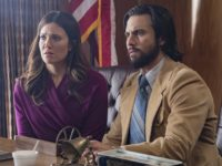 Mandy Moore and Milo Ventimiglia in This Is Us (NBC, 2016)