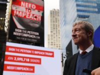 Report: 'Impeachment' Billionaire Tom Steyer Prepares to Launch Presidential Bid