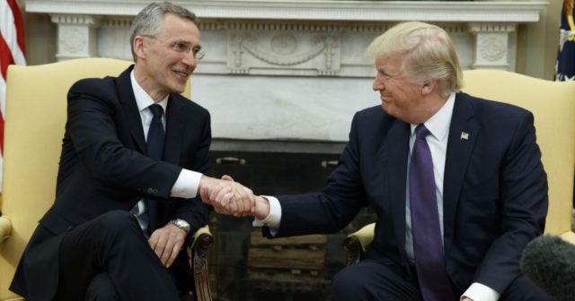 Trump scolds NATO members days ahead of summit