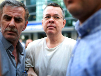 Andrew Craig Brunson, an evangelical pastor from Black Mountain, North Carolina, arrives at his house in Izmir, Turkey, Wednesday, July 25, 2018 An American pastor who had been jailed in Turkey for more than one and a half years on terror and espionage charges was released Wednesday and will be …