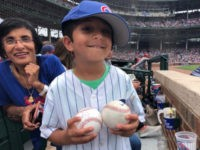 WATCH: Cubs Get Involved After Adult Fan Takes Baseball Away from a Child