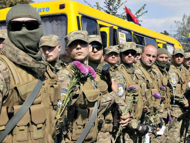 Ukraine Soldiers