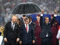 Vladimir Putin Hogs Umbrella at World Cup, Leaves Emmanuel Macron in the Rain