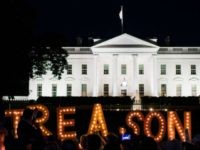 White House Treason Protests Getty
