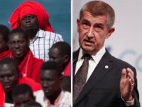 Czech PM: EU Must Turn Back Boats, Resettling Migrants Is 'Road to Hell'