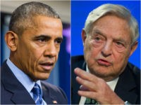 Barack Obama and George Soros