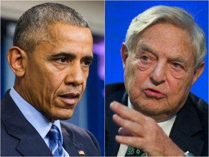 Barack Obama and George Soros