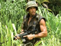 Ben Stiller in Tropic Thunder (DreamWorks, 2008)
