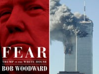 "The cover of Bob Woodward's book ""Fear: Trump in the White House,"" which Simon and Schuster will publish on the anniversary of the 9/11 terror attacks."