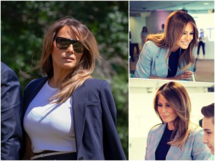 Fashion Notes: Melania Trump's Homage to Classic American, Calvin Klein Style