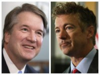 Brett Kavanaugh and Sen. Rand Paul combo photo