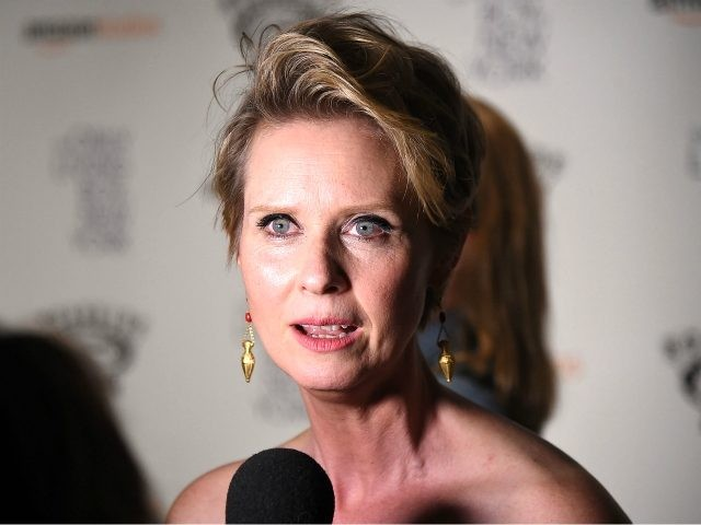 Cynthia Nixon attends 'The Only Living Boy In New York' New York Premiere at The Museum of Modern Art on August 7, 2017 in New York City. (Photo by Theo Wargo/Getty Images)