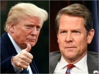 Donald Trump Backs Brian Kemp in Georgia Gubernatorial Runoff