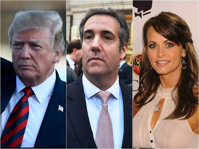 Cohen recorded Trump discussing payment to ex-Playmate