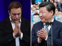 Elon Musk - CEO of Tesla, SpaceX, and the Boring Company, and Chinese president/emperor Xi Jinping.