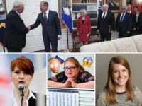 Reporter Emily Singer causes a mini Red Scare by suggesting a WH staffer pictured in the Oval Office is alleged Russian spy Maria Butina.