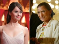 Felicity Jones Is Ruth Bader Ginsburg in Feminist Biopic 'On the Basis of Sex'