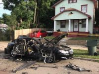 An Ohio man attempting to make his own Fourth of July fireworks spectacle caused his car to explode Wednesday night when he ignited a firework inside a vehicle full of them.