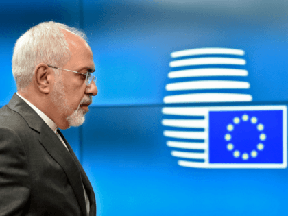 Iran's Foreign Minister Mohammad Javad Zari arrives before a ministerial meeting of EU/E3 with Iran at the EU headquarters in Brussels on May 15, 2018. (Photo by JOHN THYS / AFP) (Photo credit should read JOHN THYS/AFP/Getty Images)