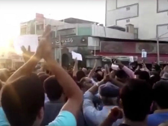 Iran protests in Borazjan, July 2018