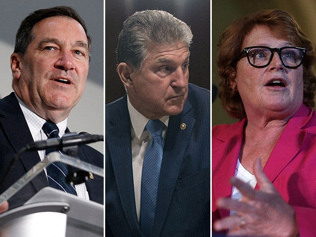 Sens. Joe Donnelly (D-IN), Joe Manchin (D-WV), and Heidi Heitkamp (D-ND).
