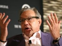 Comedian Lewis Black speaks on stage during the WSJ Disruption Dinner on September 29, 2014 in New York City. (Photo by Neilson Barnard/Getty Images for AWXI)