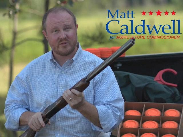 Rep. Matt Caldwell's (R-79) pro-Second Amendment Facebook ad