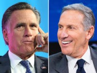 Report: Mitt Romney Organizes 2020 Donor Meetup for Starbucks' Howard Schultz