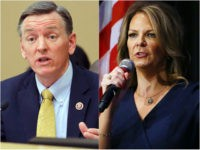 Rep. Paul Gosar (R-AZ) and Dr. Kelli Ward