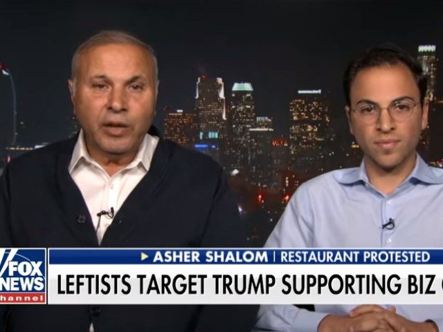Asher Shalom, the immigrant owner of a business who  employs many immigrants, says he cannot understand why his recently opened café was protested ostensibly over his support for President Trump and White House immigration policies.