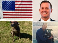 U.S. Ambassador to Germany Richard Grenell and his dog Lola.