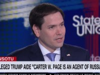 Rubio: DOJ, Did Not Do 'Anything Wrong' with Carter Page Surveillance