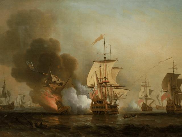 Action off Cartagena, May 28, 1708