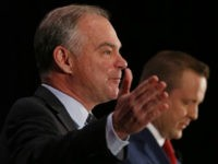 Tim Kaine to Corey Stewart at First Debate: 'We Are a Nation of Immigrants'