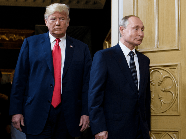 Trump and Putin Meet for 1-on-1 Discussion on Trade, Military, Missiles, Nuclear, and China thumbnail