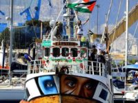 "TEL AVIV - Israel's navy on Sunday intercepted the ""Al-Adwa"" vessel that was attempting to breach the country's maritime blockade of the Gaza Strip, organizers of the Freedom Flotilla said."