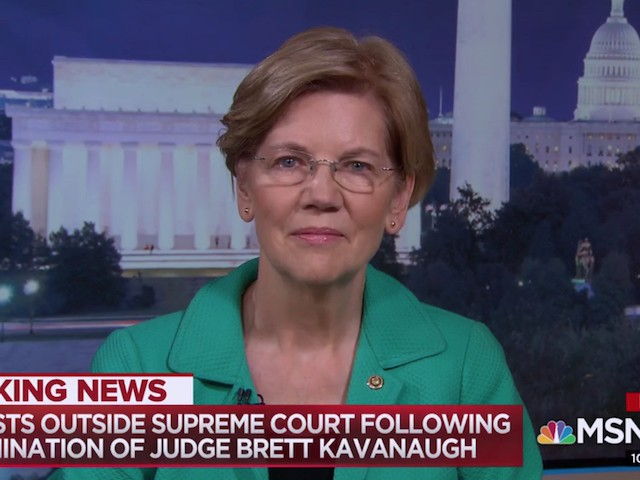 Warren: Kavanaugh's Values Do Not Reflect American Values | Breitbart
