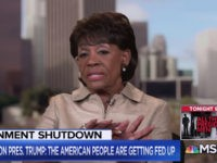 Maxine Waters: 'I Told You So' — Trump 'Is a Criminal' He Must Be Impeached