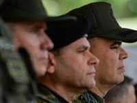 Defense Minister Vladimir Padrino Lopez at a ceremony May 15 2018 at which 16,900 were promoted