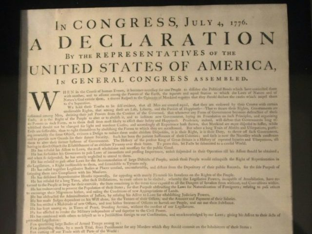 Facebook censors America's Declaration of Independence for 'hate speech'